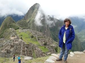 The classic shot at Machu Picchu