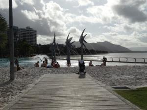 On the Esplanade