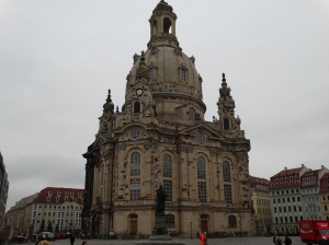 The Dresden Frauenkirche, a triumph of hope, money and perseverence.
